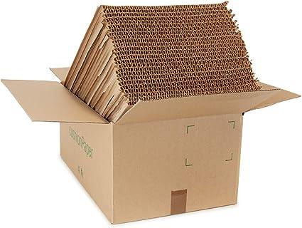 La caja cushionPaper™ por G2C | la alternativa de papel a los envoltorios de burbujas