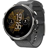 SUUNTO 7, Smartwatch para deporte y fitness, Unisex, Negro, Acero/Poliamida, Correa de silicona, Pantalla táctil…