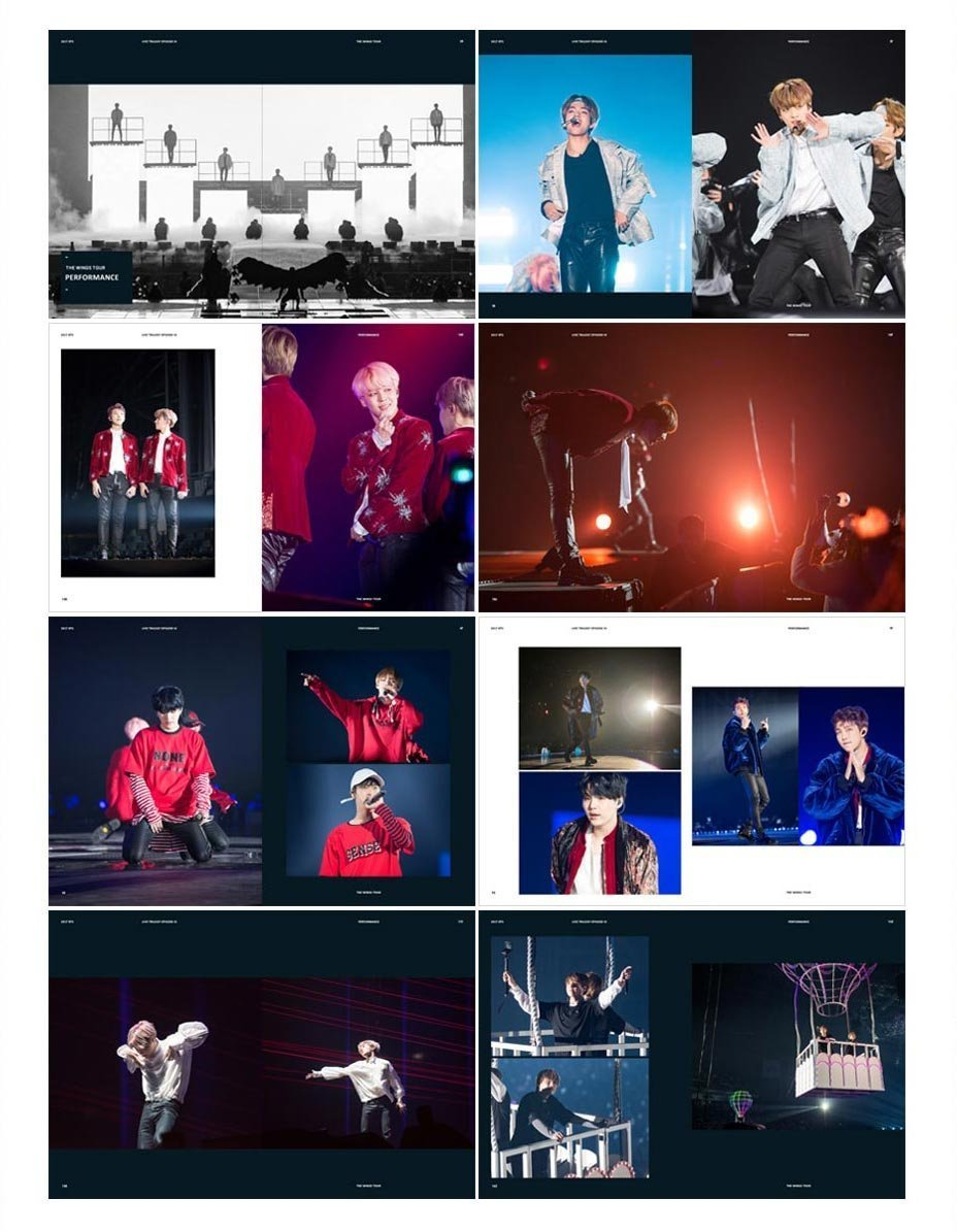BTS - 2017 BTS Live Trilogy EPISODE III THE WINGS TOUR in Seoul CONCERT DVD + Extra Photocards Set