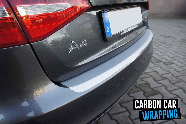 Fiesta Ladekantenschutz Lackschutzfolie von CCW/© mit Profi-Rakel in 3D Carbon Silber