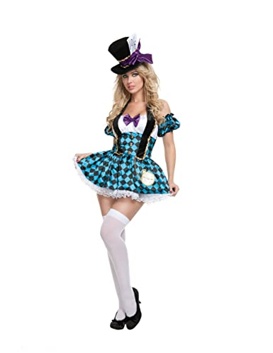 Starline Sexy Women's Mad Hatter Costume Set