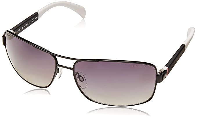 Tommy Hilfiger TH 1258/S WJ Gafas de sol, Matte Black White ...