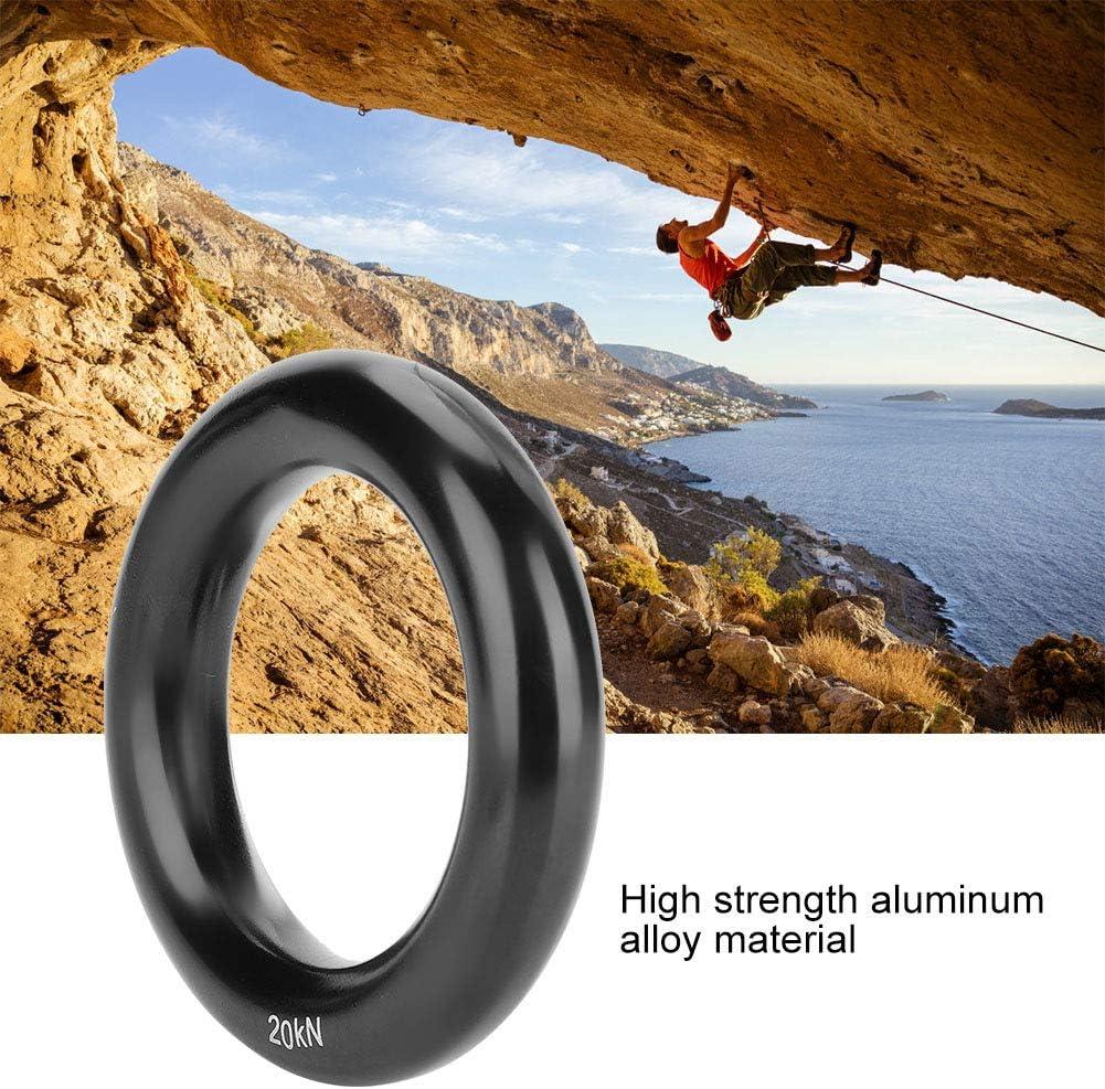 DaMohony - Anillo de aluminio multifuncional para escalada en ...