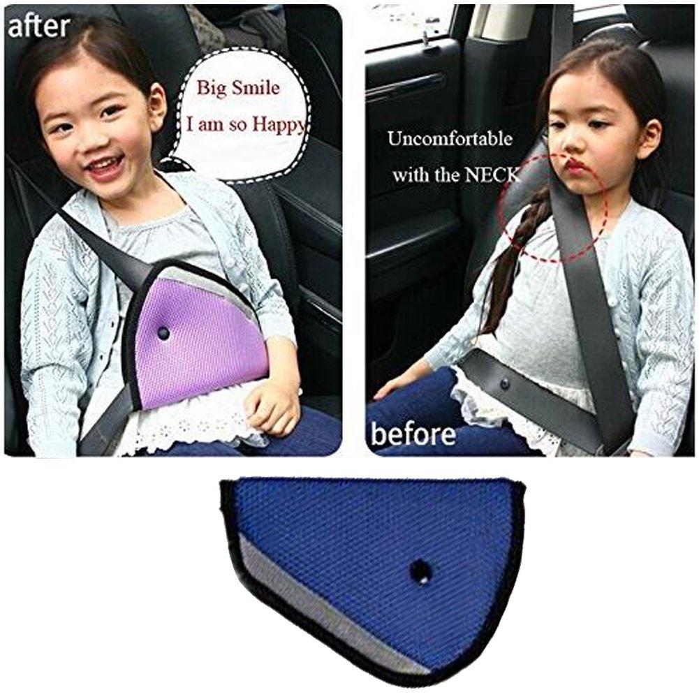 E Support ™ nouvelle voiture de sécurité enfants heitsab de couverture Harness Place Sangle einsteller Mash Pad Kids Siège Clip ceinture pour enfant EE Support