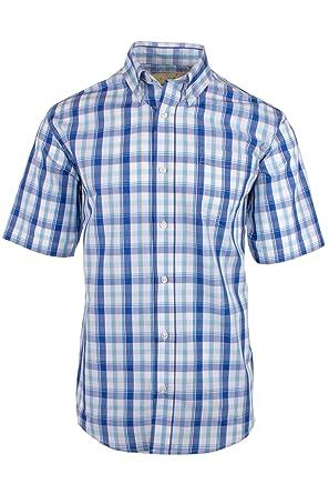 Fenside Country Clothing - Camisa Casual - para Hombre Azul Azul Medium 720772d361d