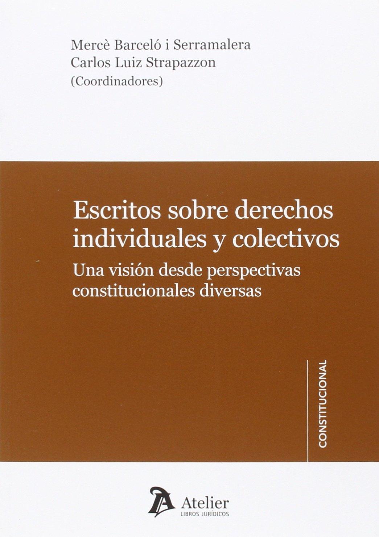Escritos sobre derechos individuales y colectivos: Una ...