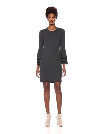 8058ccd48c8 Tommy Hilfiger Women s Peplum Sleeve Sweater Dress at Amazon Women s ...