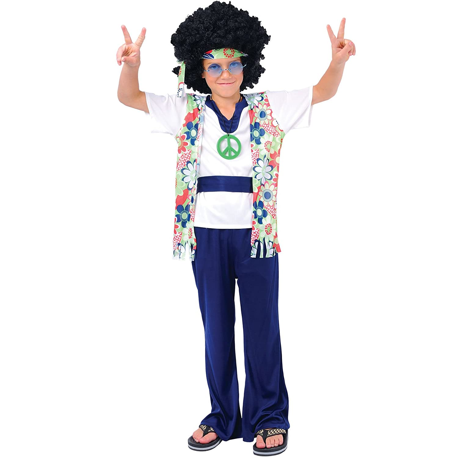 sc 1 st  Amazon UK & Hippie Dude - Kids Costume 5 - 7 years: Amazon.co.uk: Toys u0026 Games