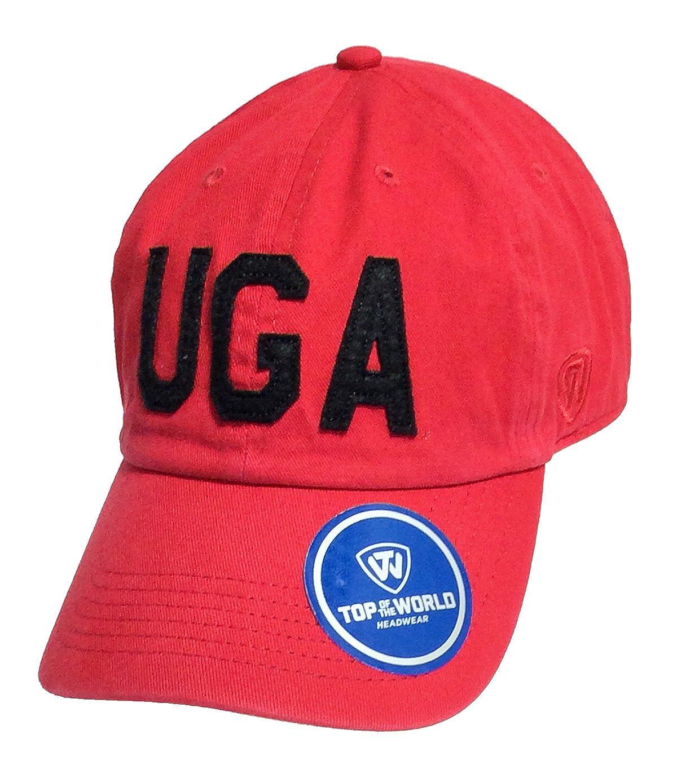 Amazon.com  Top of the World District Georgia Bulldogs Hat-red  Clothing da1f87a2216