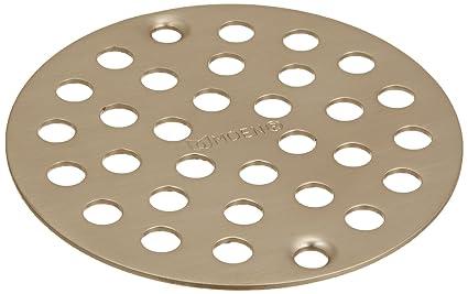 Gentil Moen 102763BN Kingsley 4 Inch Screw In Shower Strainer, Brushed Nickel