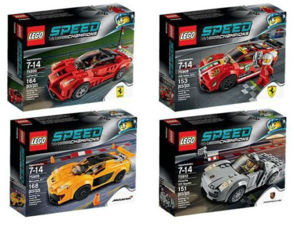 Amazon Com Lego Speed Champions Race Cars Set Of Toys Games