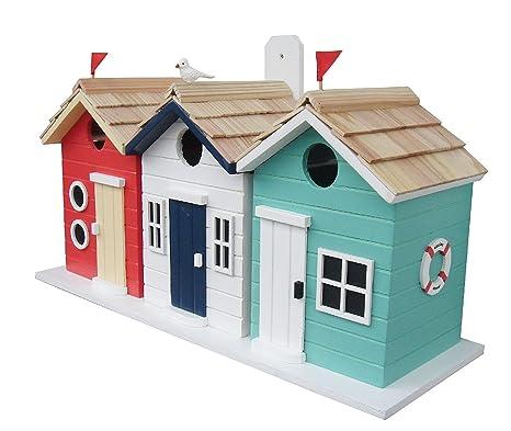 Diseño de casetas de playa casa para pájaros