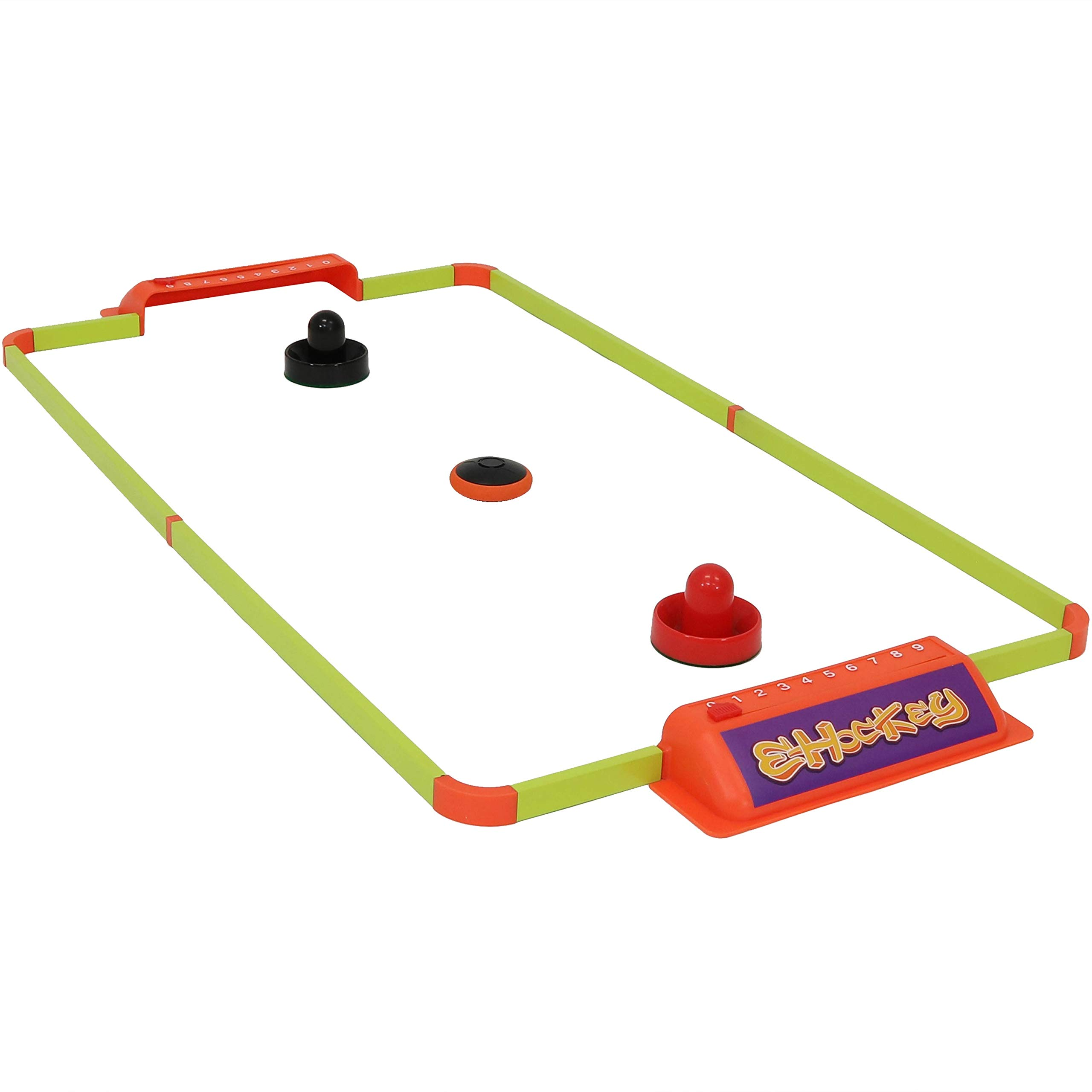 Sunnydaze Portable Hover Air Hockey Set, Mini Tabletop Game Table for Kids & Adults, 40-Inch by Sunnydaze Decor