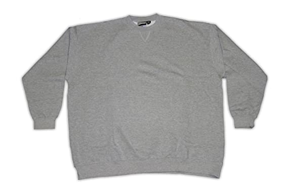 75dd6cf91 Image Unavailable. Image not available for. Color: Pennant Big and Tall  Beefy Fleece Crew Neck Long Sleeve Sweat Shirt ...