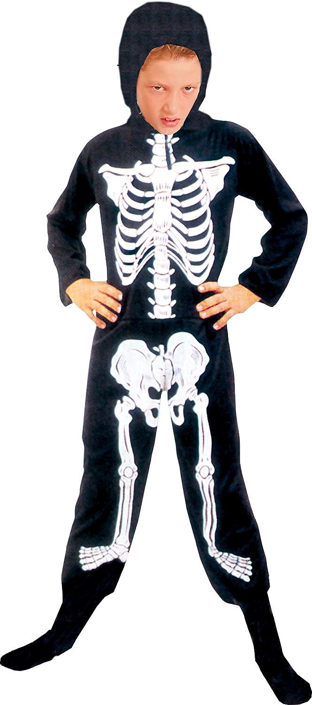 Ciao 61044.M - Disfraz de esqueleto (talla M, 5-7 años) para niños ...