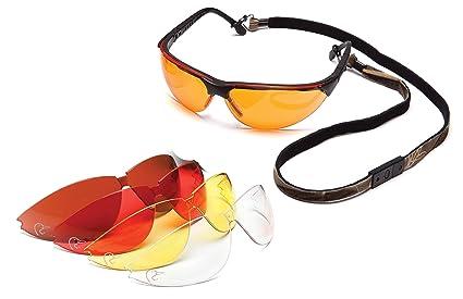 6d5ffd9cab Ducks Unlimited Juego de Lentes para disparar con 5 opciones de lentes anti  empañamiento, Empaque