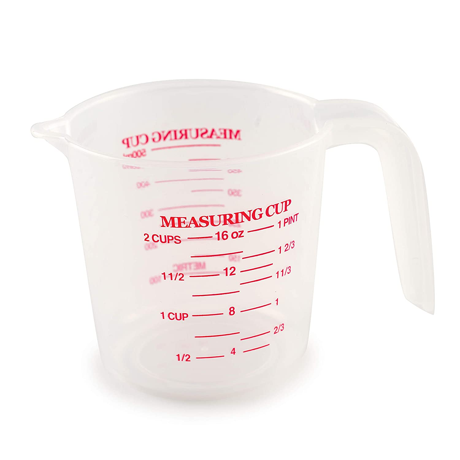 Norpro 2-Cup Plastic Measuring Cup