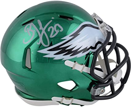 bf42d697a20 Brian Dawkins Philadelphia Eagles Autographed Riddell Chrome Alternate  Speed Mini Helmet - Fanatics Authentic Certified