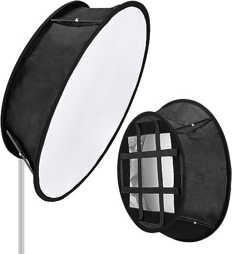 Neewer Luz Trapezoide LED Softbox Plegable: 11,5x11,5