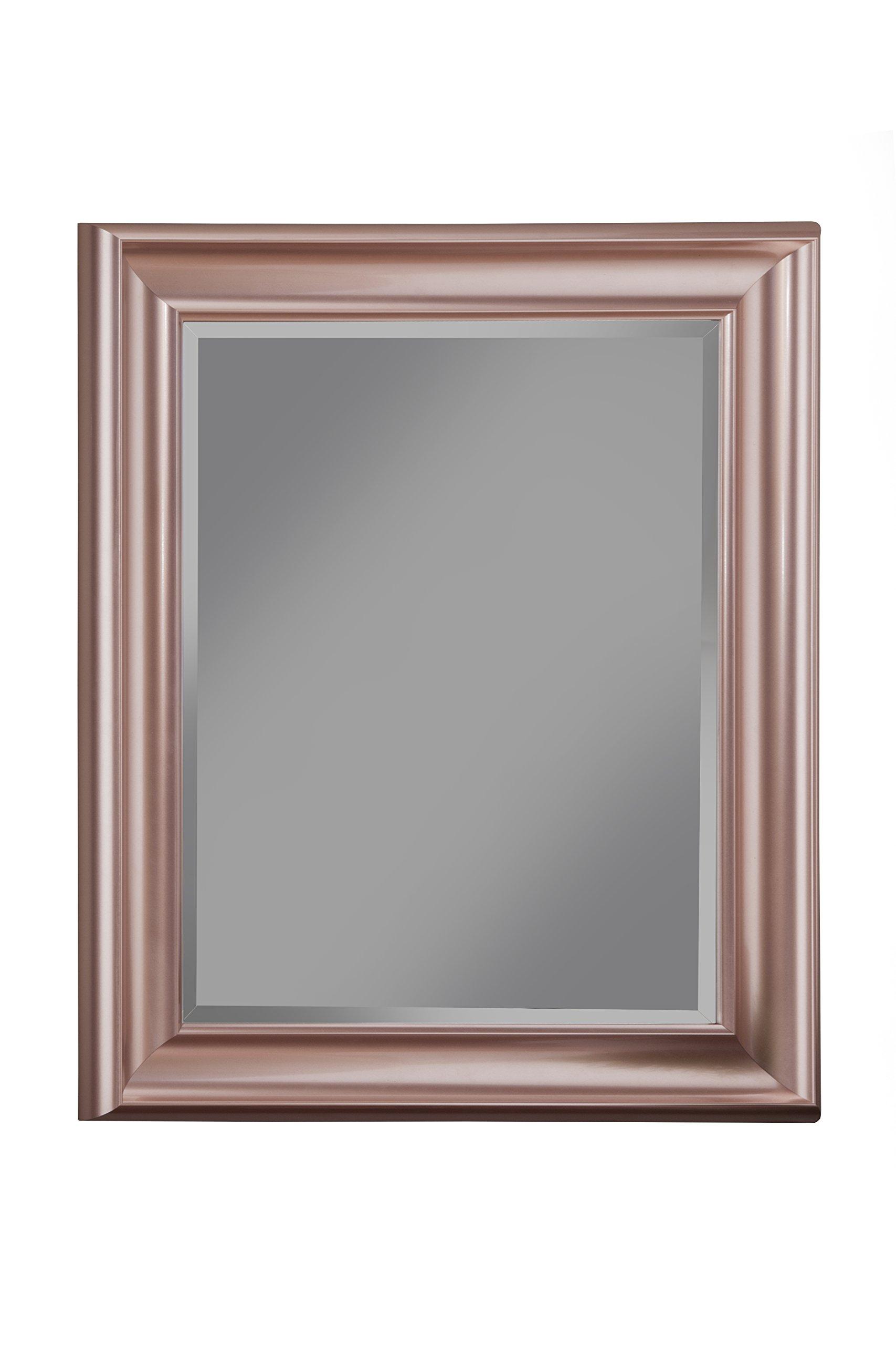 Sandberg Furniture Rose Gold Wall Mirror, 36'' x 30''