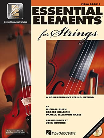 Essential Elements 2000 for Strings: Violin - Book 1 CD/DVD