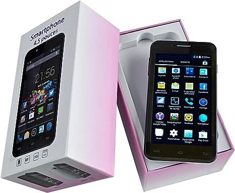 Smartphone 4,5 Pulgadas Android 4.4: Amazon.es: Electrónica