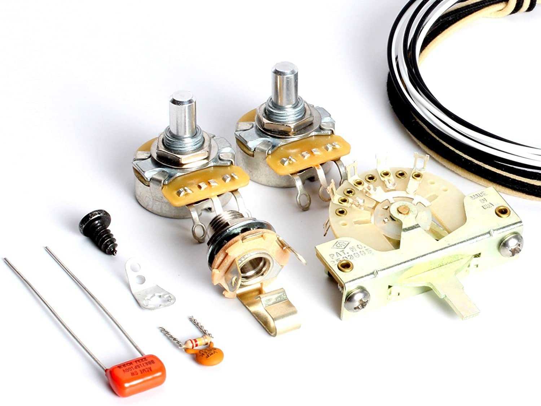 Amazon.com: ToneShaper Guitar Wiring Kit, For Fender Telecaster, SS1  (Modern Wiring): Musical InstrumentsAmazon.com
