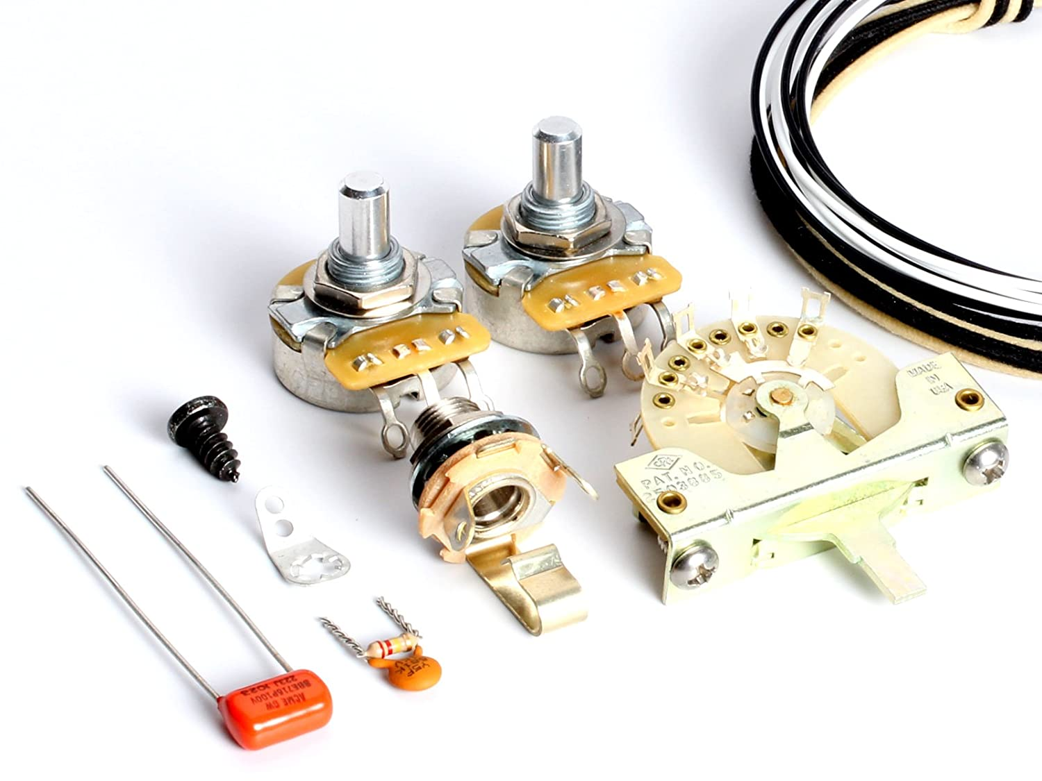 ToneShaper Guitar Wiring Kit, For Fender Telecaster, SS1 (Modern Wiring):  Amazon.co.uk: Musical Instruments