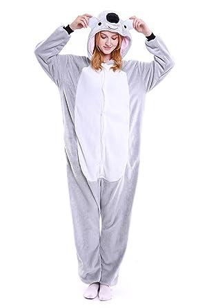 Tuopuda Unicornio Pijamas Unisexo Adulto Traje Disfraz Adulto ...