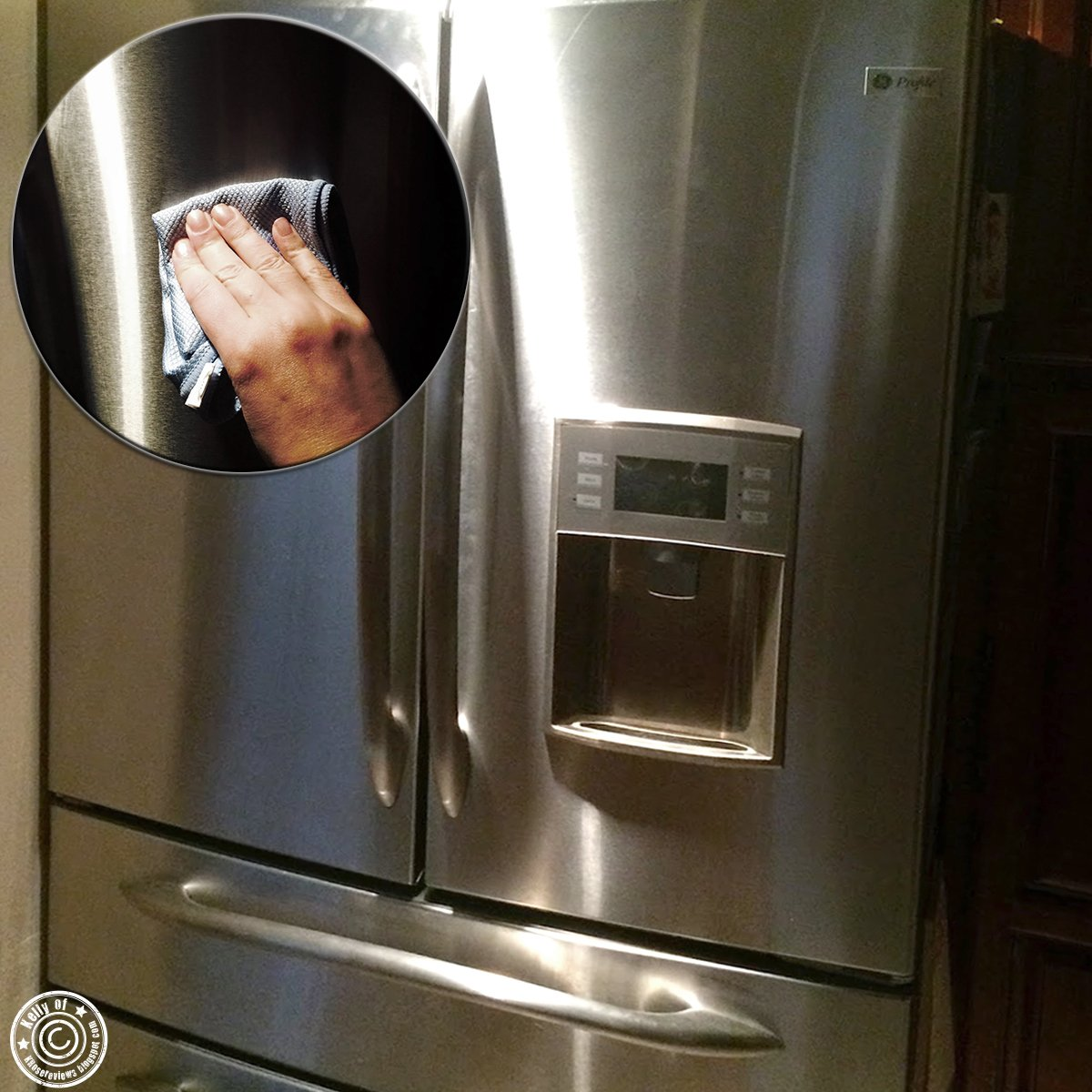 The Best Way To Clean Stainless Steel Appliances Amazoncom Pro Chef Kitchen Tools Stainless Steel Appliance
