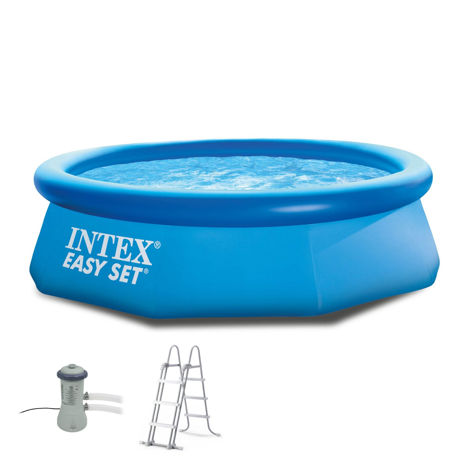 Intex 244 x 76 cm Pool 281123 Easy Set Incl. Bomba de filtro y ...
