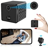 Mini Spy Camera, Sorlnern WIFI Wireless Hidden Camera with Audio Video, Motion Detect, 1080P HD Night Vision Remotes, Network