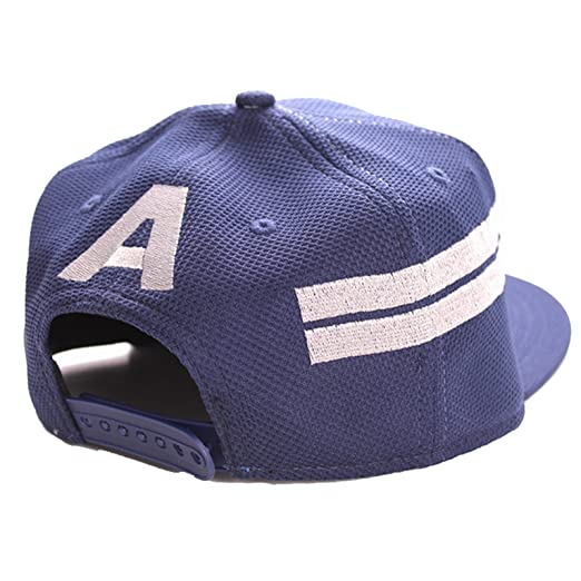 captain america civil war baseball cap winter soldier shield marvel star stripes official navy hat one size clothing