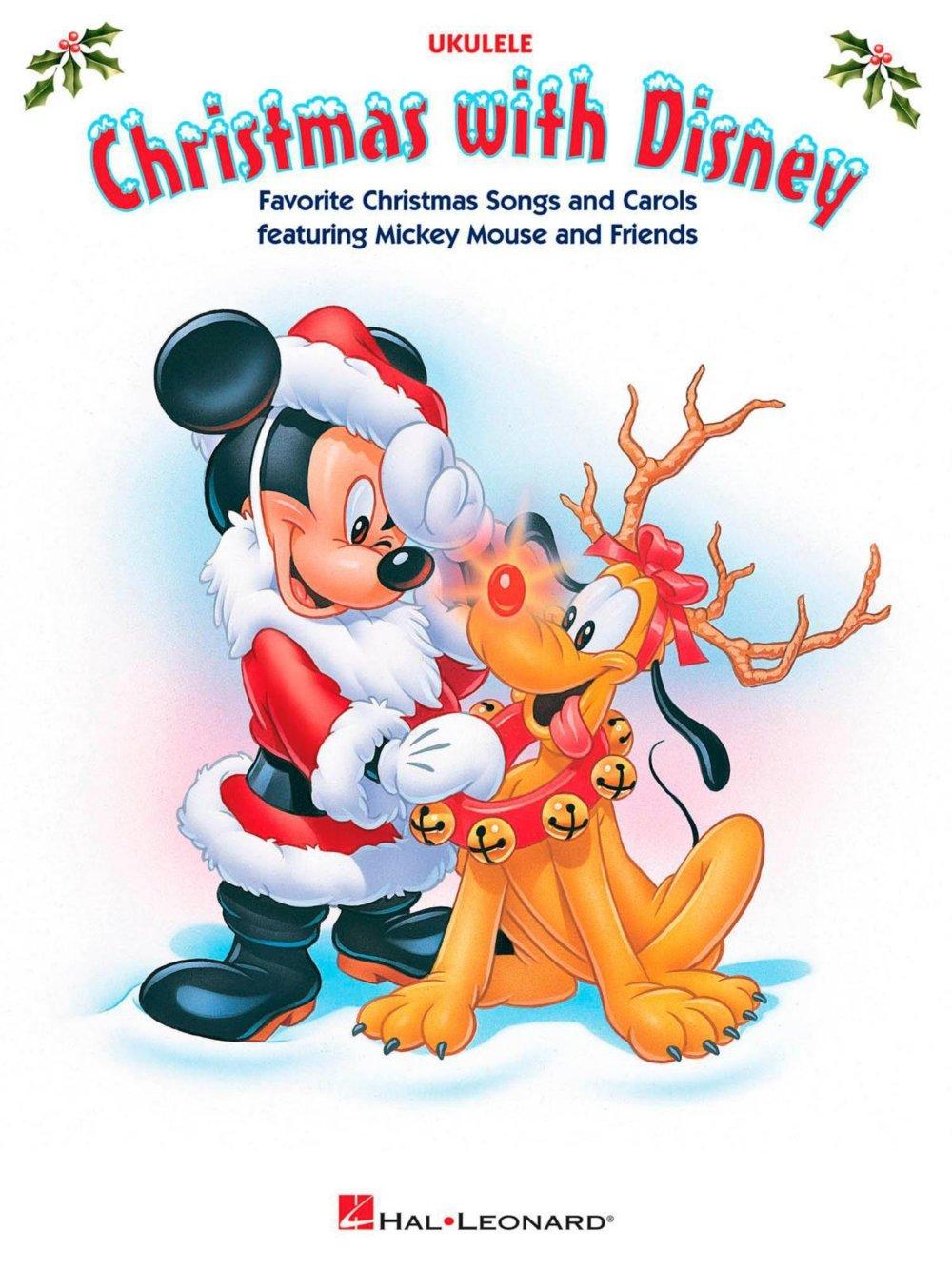 Hal Leonard Christmas With Disney - Ukulele Songbook