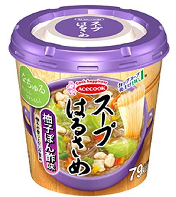 エースコック スープはるさめ 柚子ぽん酢味 32g