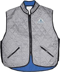HyperKewl Deluxe Sport Cooling Vest Silver MD