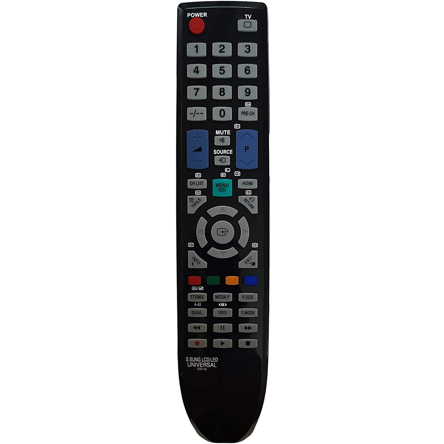 UNIVERSAL REMOTE CONTROL FOR SAMSUNG TV - REPLACEMENT - WITHOUT SETUP