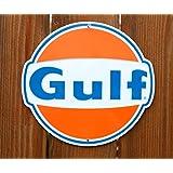 HangTime Gulf Oil Nostalgia Sign Die Cut
