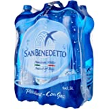 San Benedetto Sparkling Pet Water, 1.5L (Pack of 6)