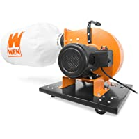 WEN DC3402 7.4-Amp Rolling Dust Collector with Induction Motor