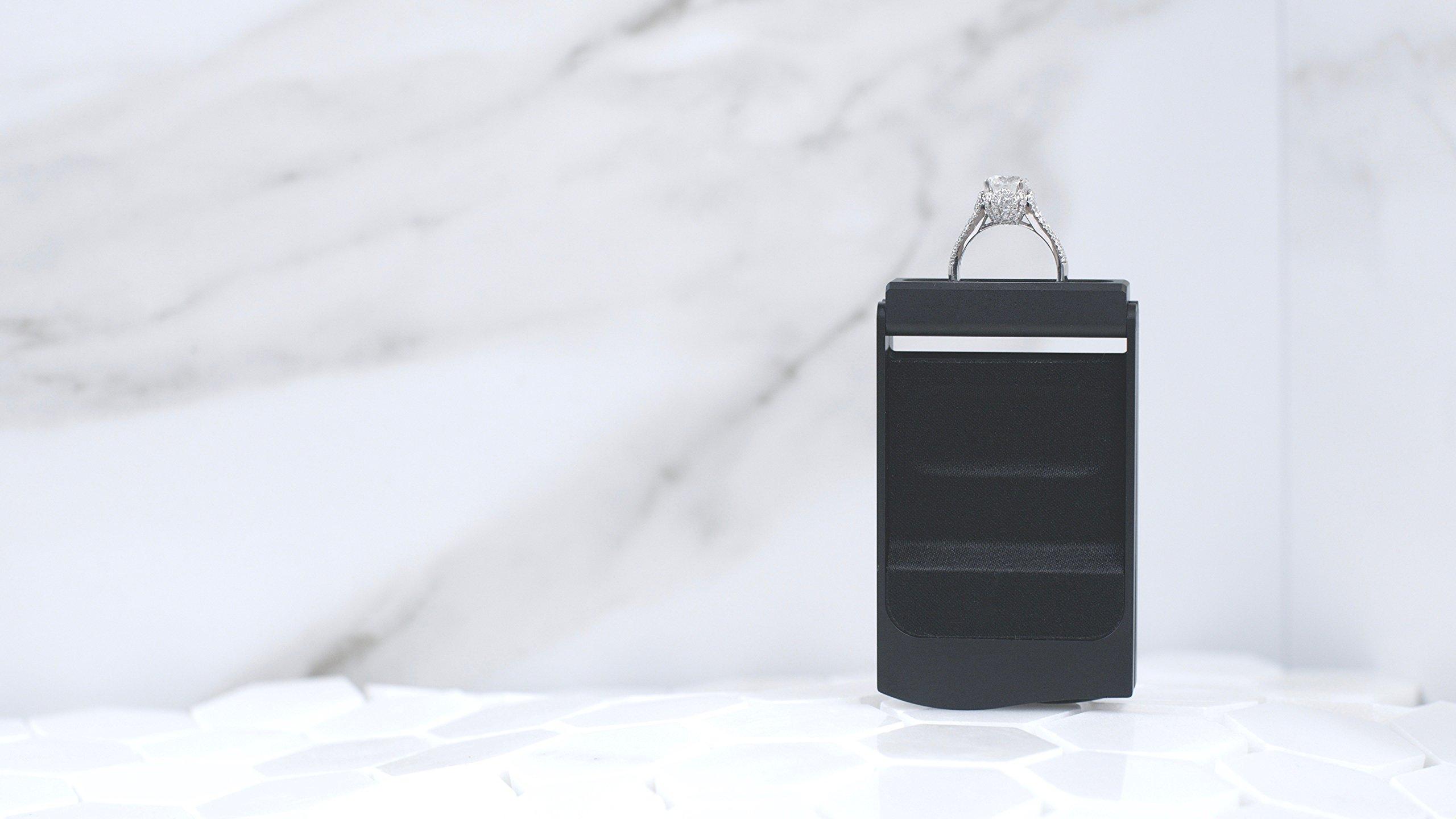 The Monarch Engagement Ring Box - Premium Wedding Ring Box by Monarch