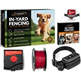 Earlyhights Underground Invisible Electric Outdoor Dog Fence Containment System,10 Acre Range 1000 Ft in Ground Wire, Dogs Over 8 lb Training Ebook