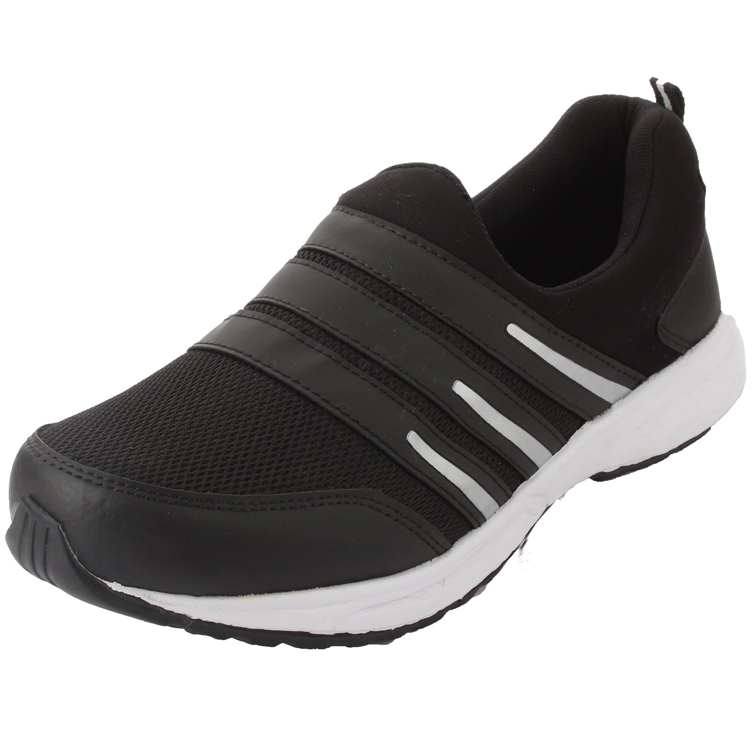 cd409127d902 Redon Men s Black Running Shoes - 6 UK (F-16 Black--6)  Buy Online at Low  Prices in India - Amazon.in