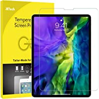 JETech Screen Protector for iPad Pro 11-Inch (2020 and 2018 Release Edge to Edge Liquid Retina Display), Face ID Compatible, Tempered Glass Film