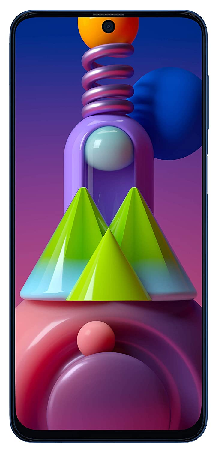 Samsung Galaxy M51 (Electric Blue, 8GB RAM, 128GB Storage) - Get Extra Rs 2,500 Off on Exchange - Limited Period Offer