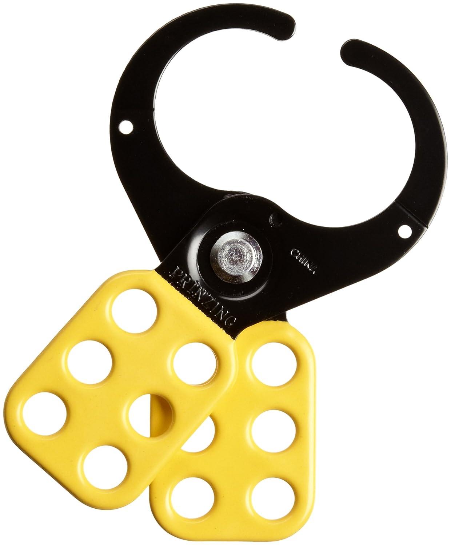 1 Inside Jaw Diameter Brady Epoxy-Coated Steel Lockout Hasp