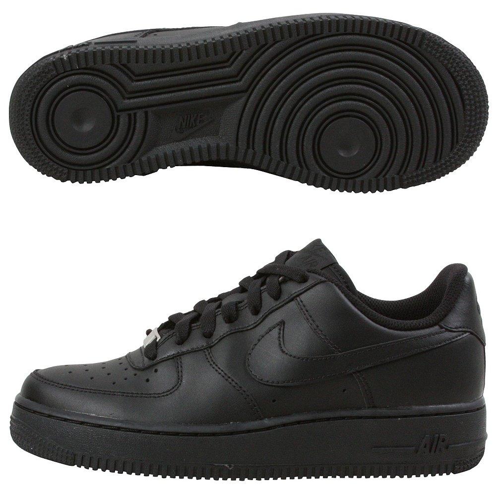 Nike Sneaker Air Force 1 Gs 314192_Synthetik Unisex-Kinder Niedrig-Top Sneaker Nike Schwarz (schwarz/Multi-color) ad34d4