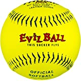 "New Trump Stote Evil Ball Trump MP-EVIL-RP-11-ASA-Y 11/"" Fastpitch Yellow 1 Dzn"