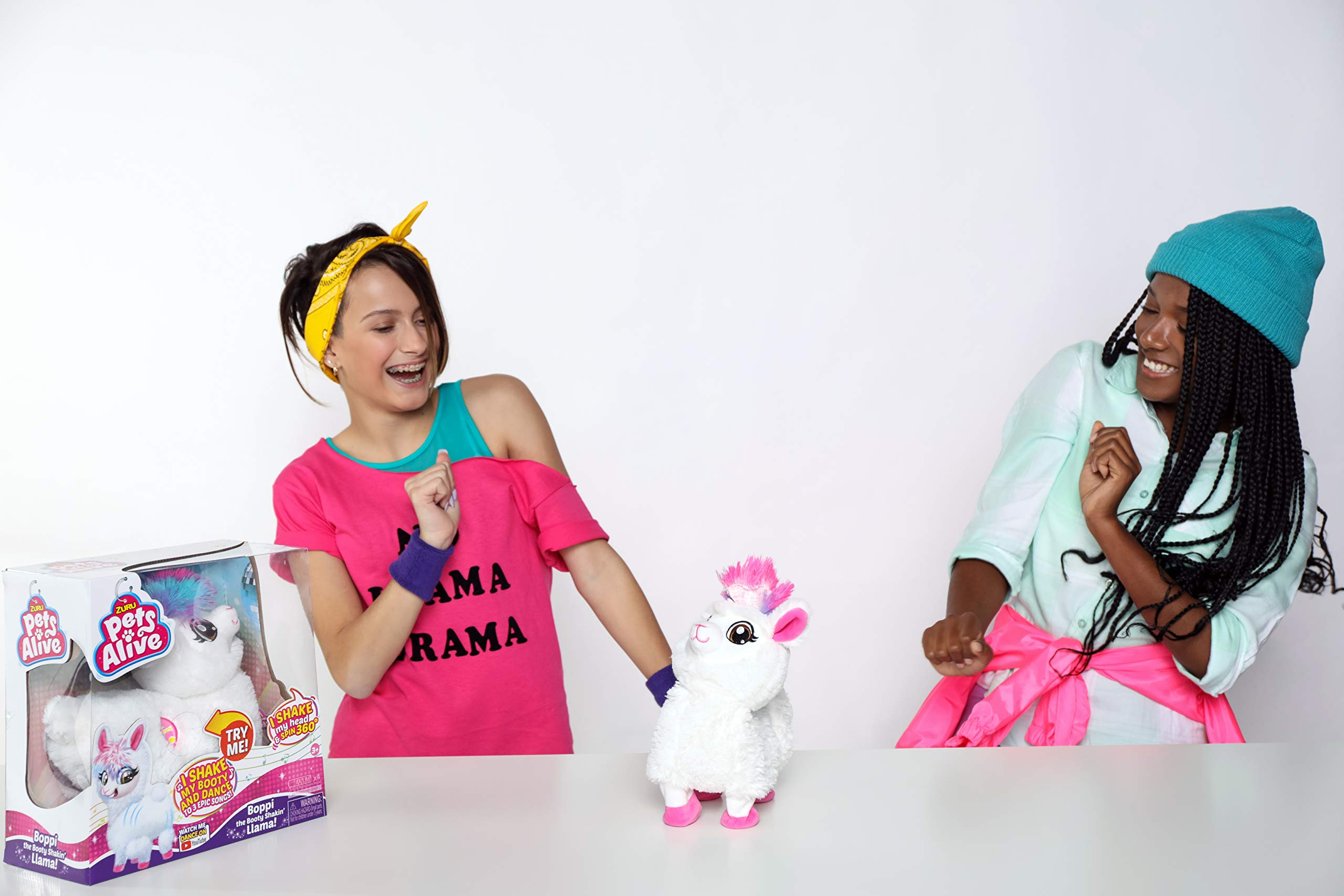 Pets Alive Boppi The Booty Shakin Llama Battery-Powered Dancing Robotic Toy by Zuru by Pets Alive (Image #3)