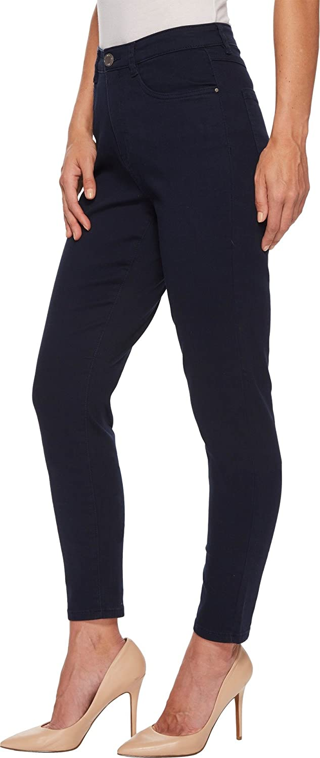 FDJ French Dressing Jeans Womens Sunset Hues Suzanne Slim Leg in Navy